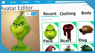 ROBLOX MAKING THE GRINCH AN ACCOUNT