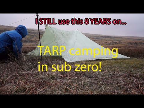 Dartmoor, A freezing test for the Cuben Trailstar 25.3.13 (Camp 11!).