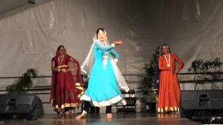 Mughal dance performance for Townsville Culture festival 2015
