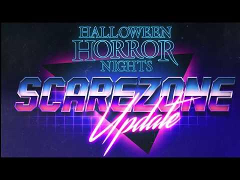 Halloween Horror Nights 29 - Scare Zone Update 8/21   Universal Orlando