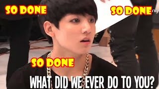 When MAKNAES BTS are SO DONE with HYUNGS