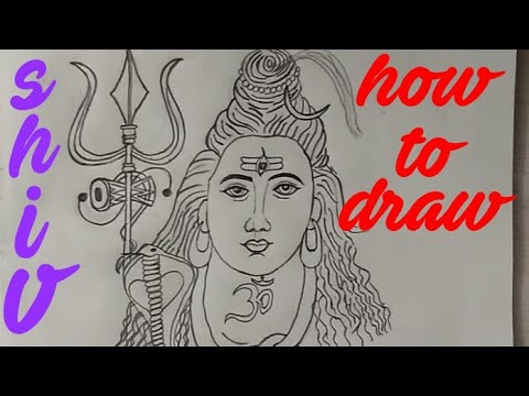 How To Draw Shiva Shankar Drawing || Art And Photography || Shiv Sketch ||
