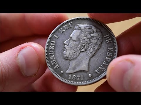 Silver Spanish 5 Pesetas - In Focus Friday - Episode 61!