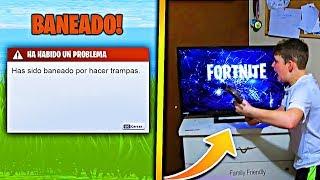 ¡¡ 7 NIÑOS que FUERON BANEADOS de Fortnite !!