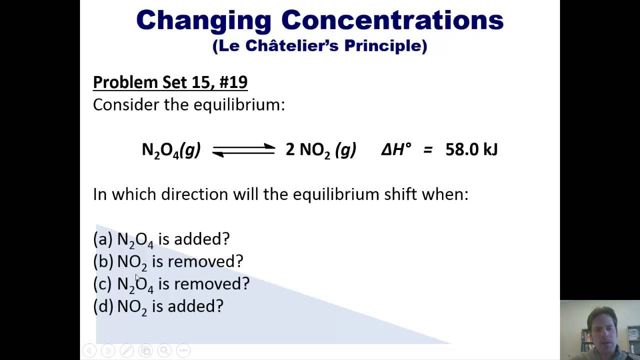 Chapter 15 – Chemical Equilibrium: Part 3 of 12