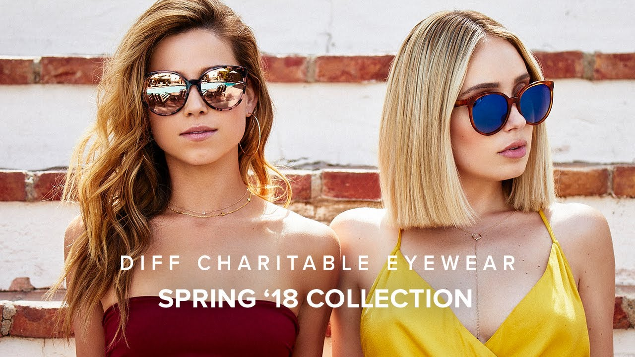 f5c2dc31132 DIFF EYEWEAR SPR 18 COLLECTION - YouTube