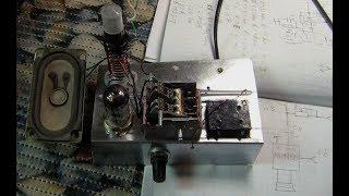 Низковольтный ламповый FM-приемник без выходного трансформатора (сверхрегенератор #3)
