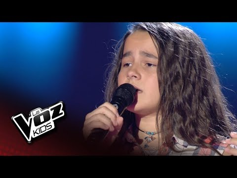 "Noelia: ""Can´t blame a girl for trying"" – Audiciones a Ciegas  - La Voz Kids 2018"