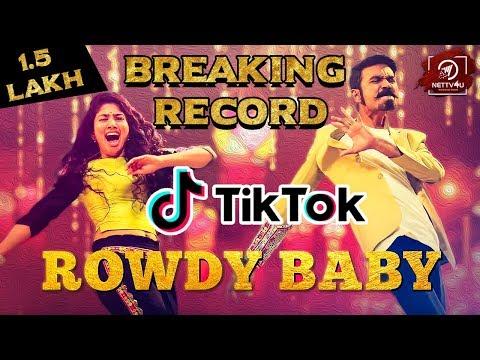 Maari 2 - Rowdy Baby's Record In TikTok | Dhanush | Sai Pallavi