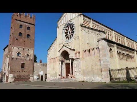 Basilica i Piazza di San Zeno Maggiore, Verona, Italia