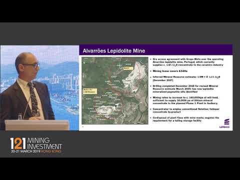 Presentation: Lepidico - 121 Mining Investment Hong Kong 2019 Spring