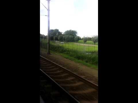 Timelapse Leiden Lammenschans Naar Alphen Aan Den Rijn Met De Trein