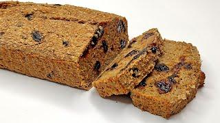 Банановый хлеб пп 100 Веган Простой рецепт