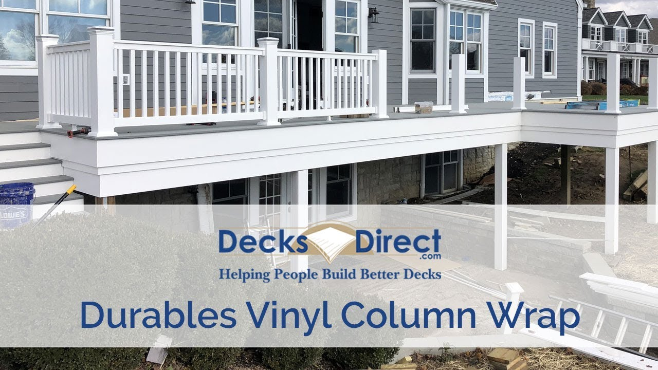post millwork columns wraps vinyl porch restoration column pin certainteed posts
