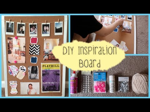 diy inspiration board diywithpxb youtube. Black Bedroom Furniture Sets. Home Design Ideas