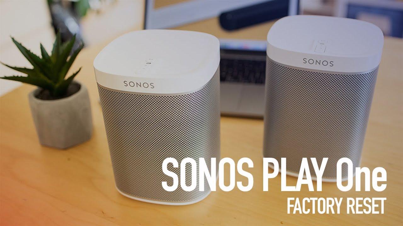 Cum resetezi la setarile din fabrica SONOS Play 9, in numai 9 de secunde