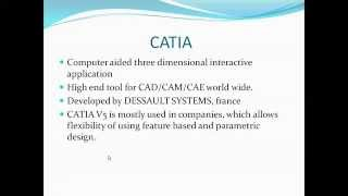 Introduction to CATIA