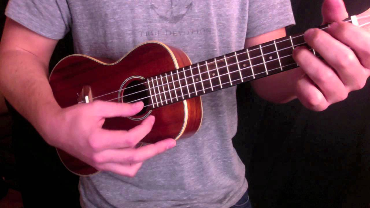 Hallelujah ukulele chord melody arrangement with tab youtube hexwebz Choice Image