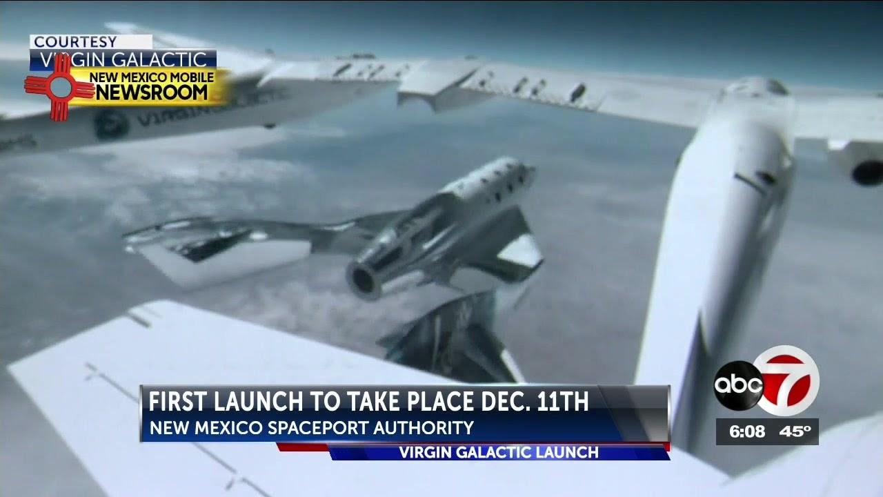 Virgin Galactic prepares for southern New Mexico test flight on Dec. 11