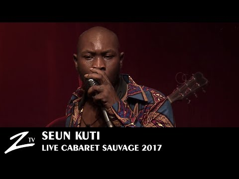 Seun Kuti - Bad Man Lighter & African Dream - Cabaret Sauvage 2017 - LIVE HD
