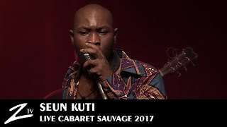 seun kuti bad man lighter african dream cabaret sauvage 2017 live hd