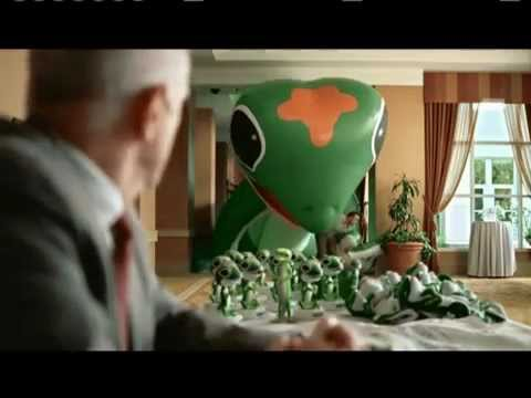 Advertising Balloon in the GEICO Commercial, Advertising Inflatable, Outdoor Inflatable