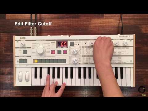 KORG microKORG S #3   Edit Pad Synth