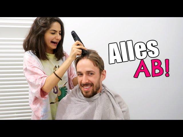Ich rasiere meinem Freund ALLE HAARE ab!!   IschtarsLife