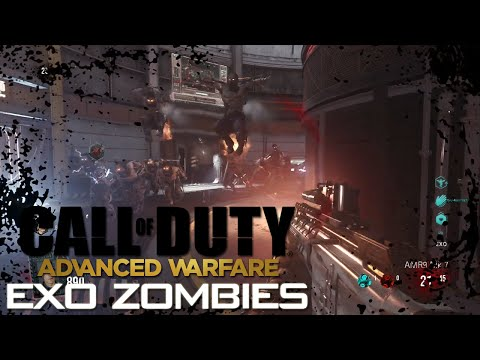 CoD: AW - EXCLUSIVE 1 Hour Exo Zombies Outbreak Gameplay