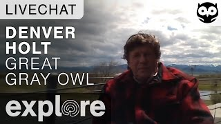 Denver Holt - Owl Research Institute - Live Chat