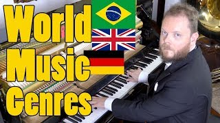 A Music Genre for Each Country of the World thumbnail