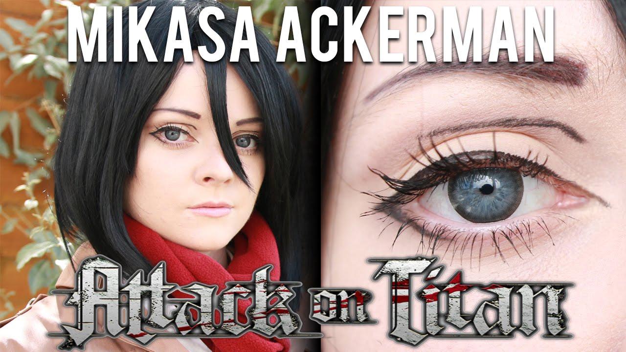 Mikasa Ackerman Aot Makeup Tutorial Calliesakura