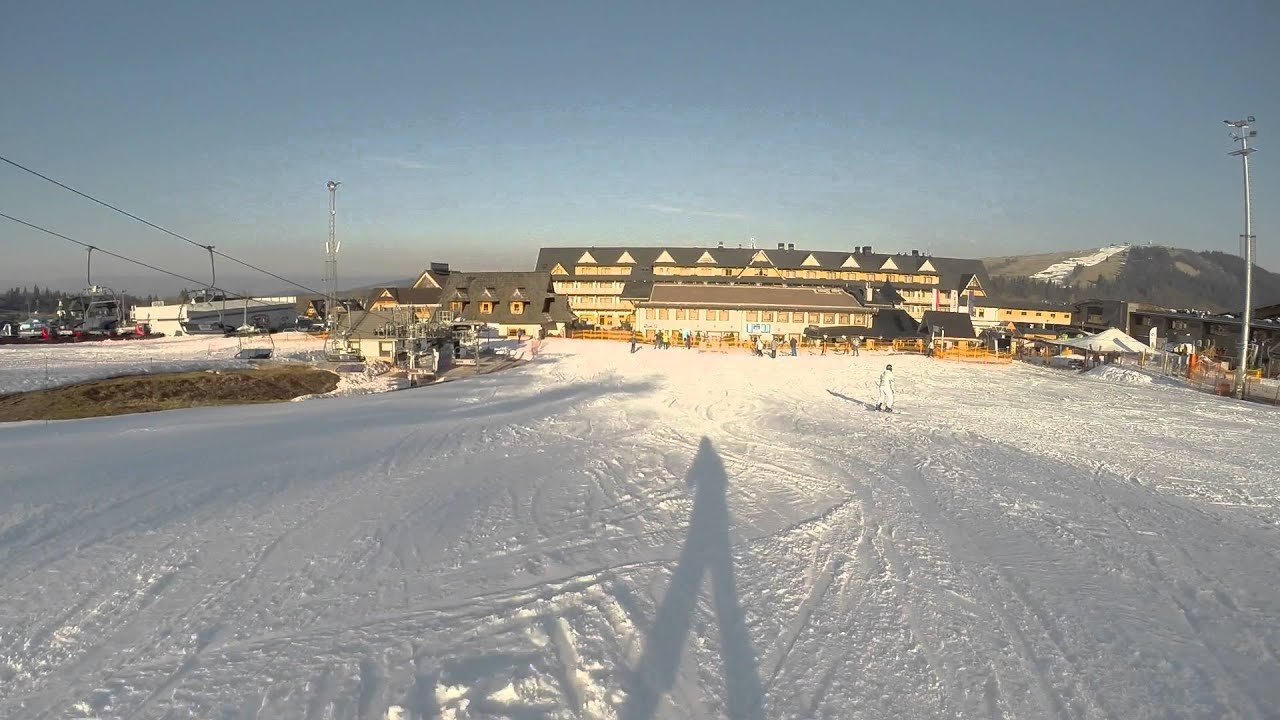 Zakopane Ski Resort Białka Tatrzańska Trip Youtube