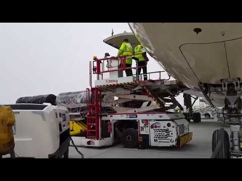 How Cargo is Loaded and Removed from Aircraft | Cabin Crew | Mamta Sachdeva| Aviation | Airports |