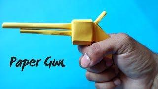 How To Make a Paper Gun without Glue & Scissor | Easiest paper gun | InnoVatioNizer