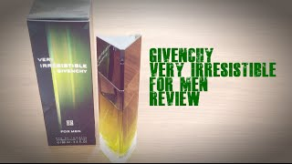 Givenchy Very Irresistible for Men Fragrance Review