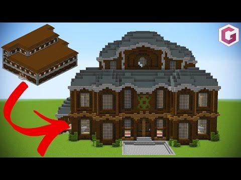 Let's Transform a Minecraft Woodland Mansion!