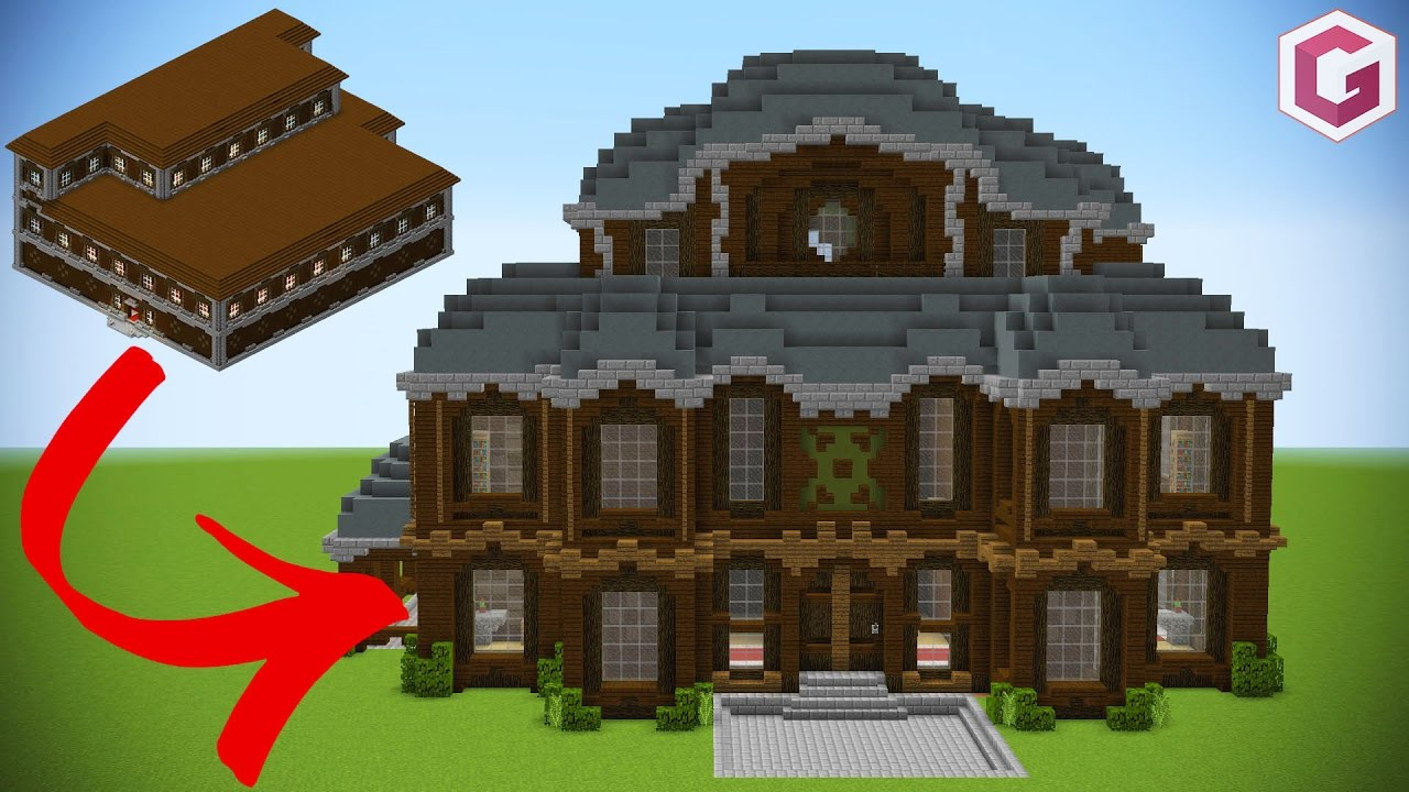 Let S Transform A Minecraft Woodland Mansion Youtube
