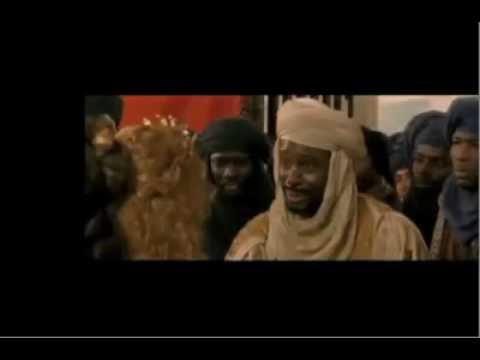 BLACK MOORS scene from a Movie