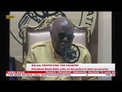 Akufo-Addo calls on police to beef up security