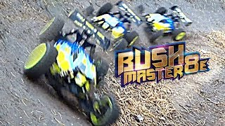 Gambar cover Thunder Tiger - BUSHMASTER 8E 1/8 4WD BUGGY Extreme Off Road Test