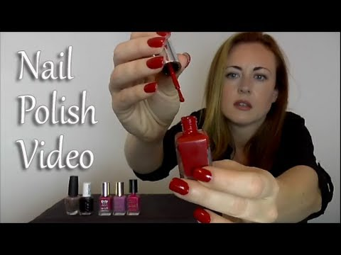 (~_~)ASMR Nail Polish Sounds(~_~)