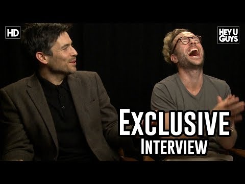 Rafe Spall & Robert James Collier | The Ritual Interviews | Toronto International Film Festival