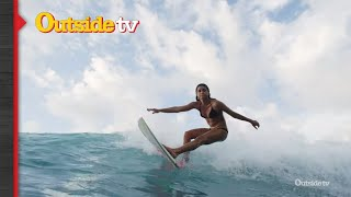 Adam Glick and Anastasia Ashley Catch Some Waves | Stoked