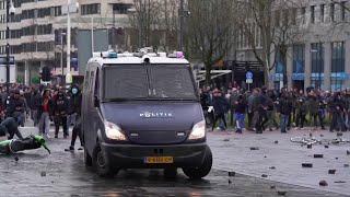 В ряде европейских стран проходят протесты против карантинных мер.