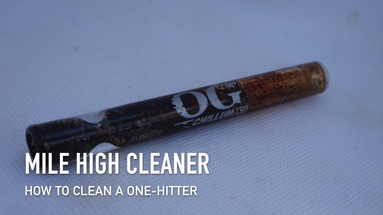 How to Clean a Pipe Quickly and Easily: One-Hitter by OG Chillum