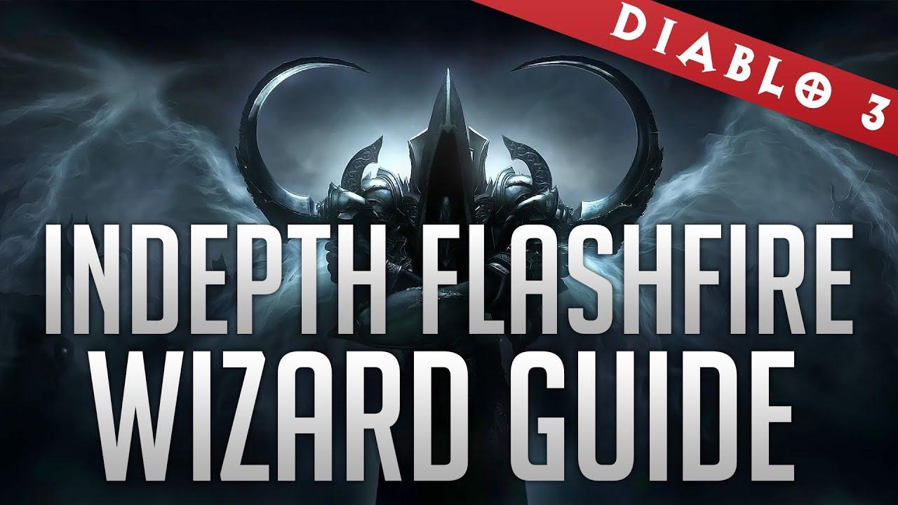 Flashfire Wizard Indepth Guide (GR70+ Gem Runs / TX Farm/Bounties)