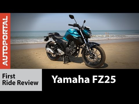 Yamaha FZ25 Test Ride Review - Autoportal