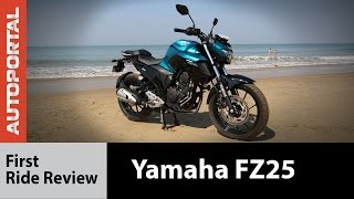 Yamaha FZ25 Test Ride Review - Autoportal