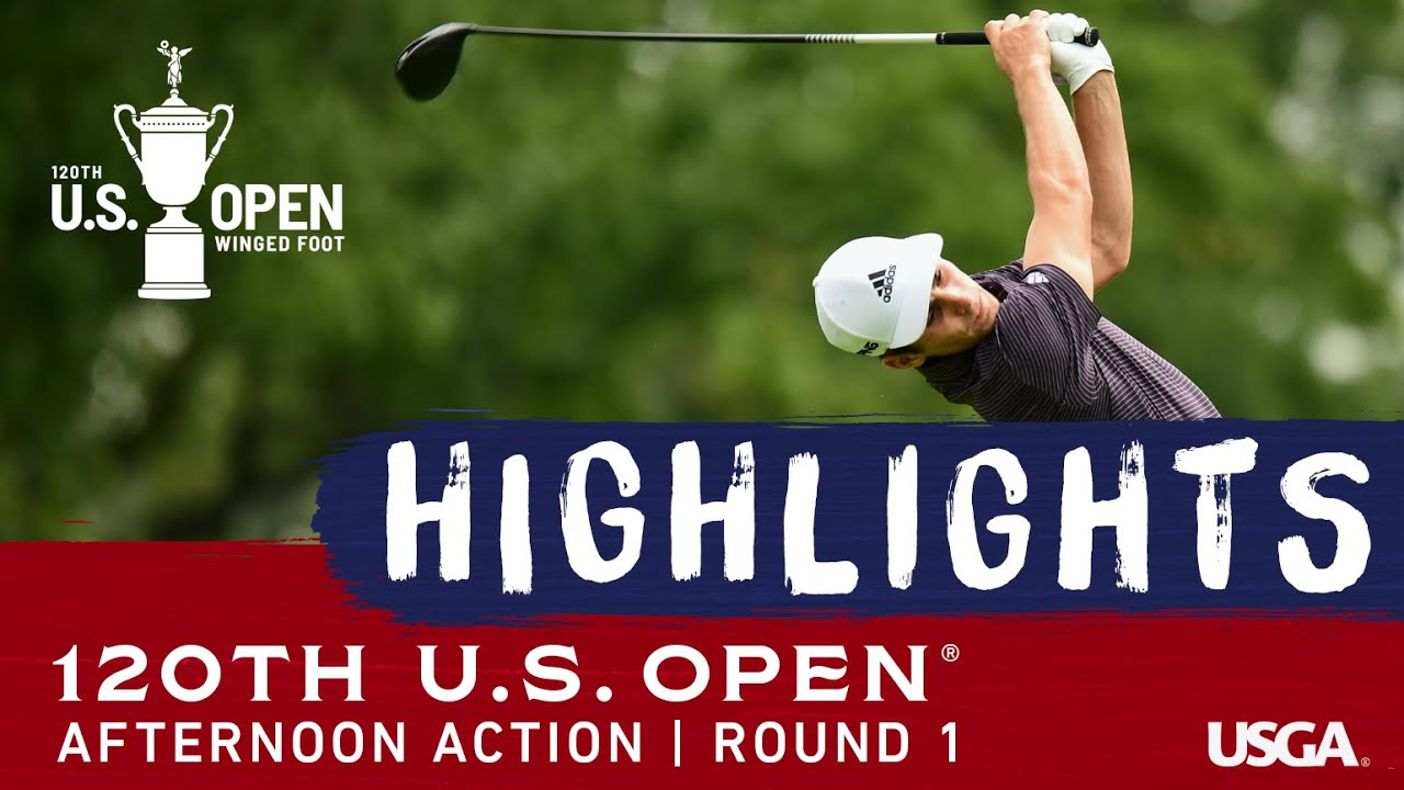 2020 U.S. Open, Round 1: Afternoon Highlights
